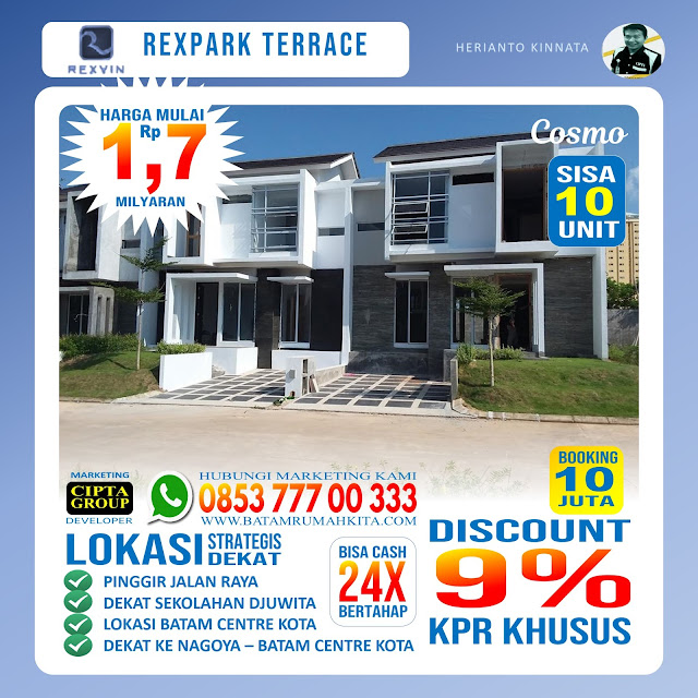 Perumahan Rexpark Terrace - cosmo-1