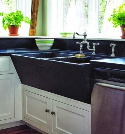 Management Chair DESIGN IDEA Vintage Soapstone Sinks