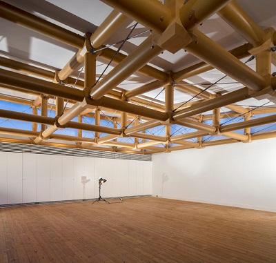 arquitectura sostenible construccion con tubos de carton. Black Bedroom Furniture Sets. Home Design Ideas