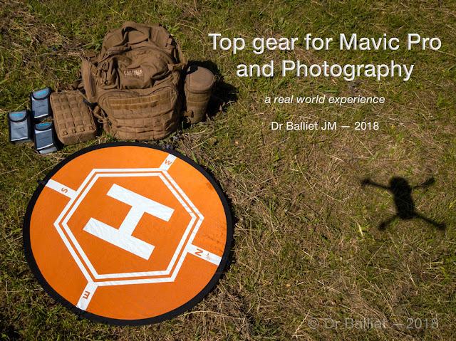 Top gear for Dji Mavic Pro and Photography