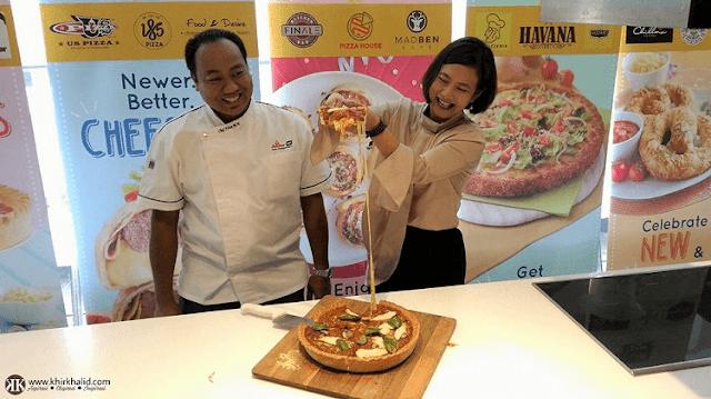 Linda Tan, Chef Firuz, PizzArt (Phase II), Anchor Food Professionals,