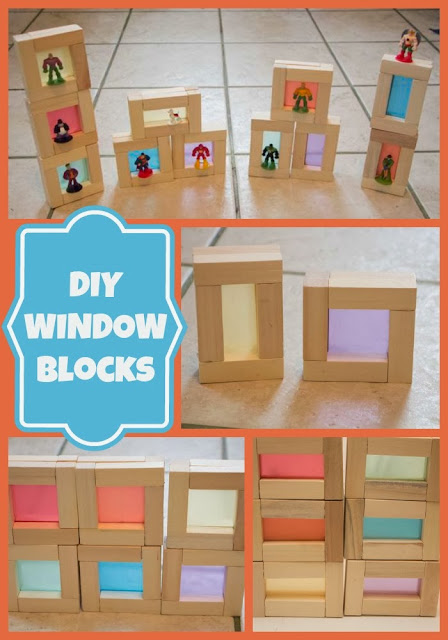 DIY Color Window Blocks
