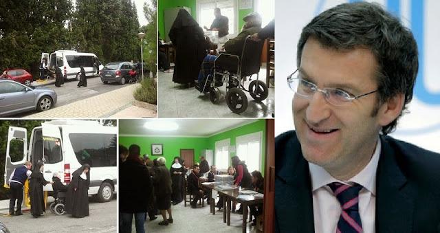 Cuatro dirigentes del PP gallego imputados por llevar enfermos con demencia a votar