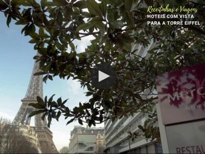 Hoteis com vista para Torre Eiffel