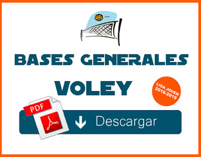 DESCARGAR BASES VOLEY TEMP 2018-2019