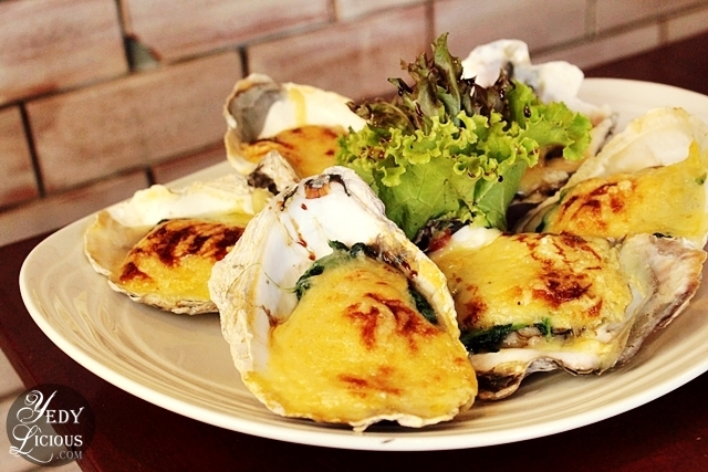 Baked Oyster / Alhemy Makati Menu
