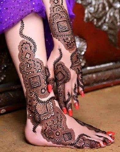 Latest Karva Chauth Mehendi Design
