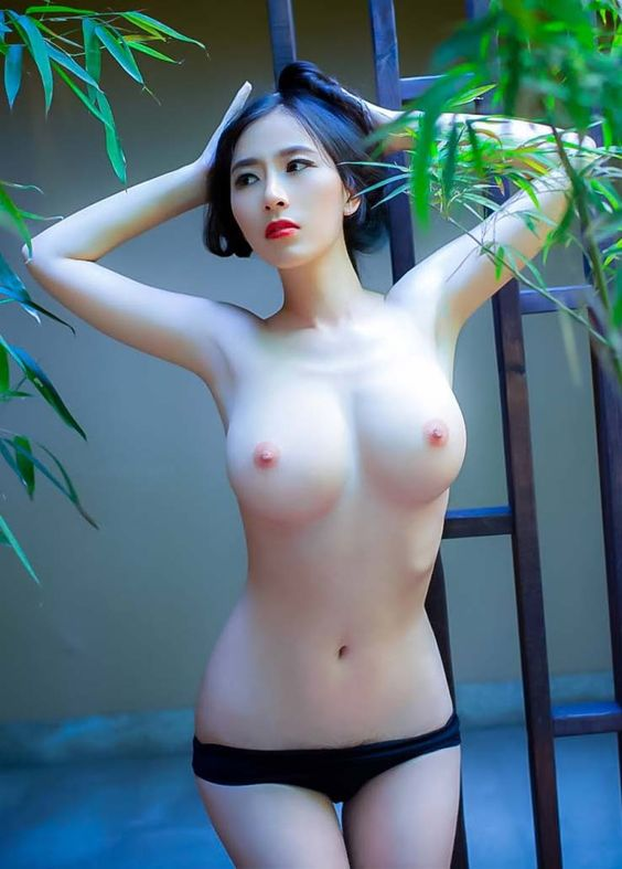 Amusing Korean Beach body naked were