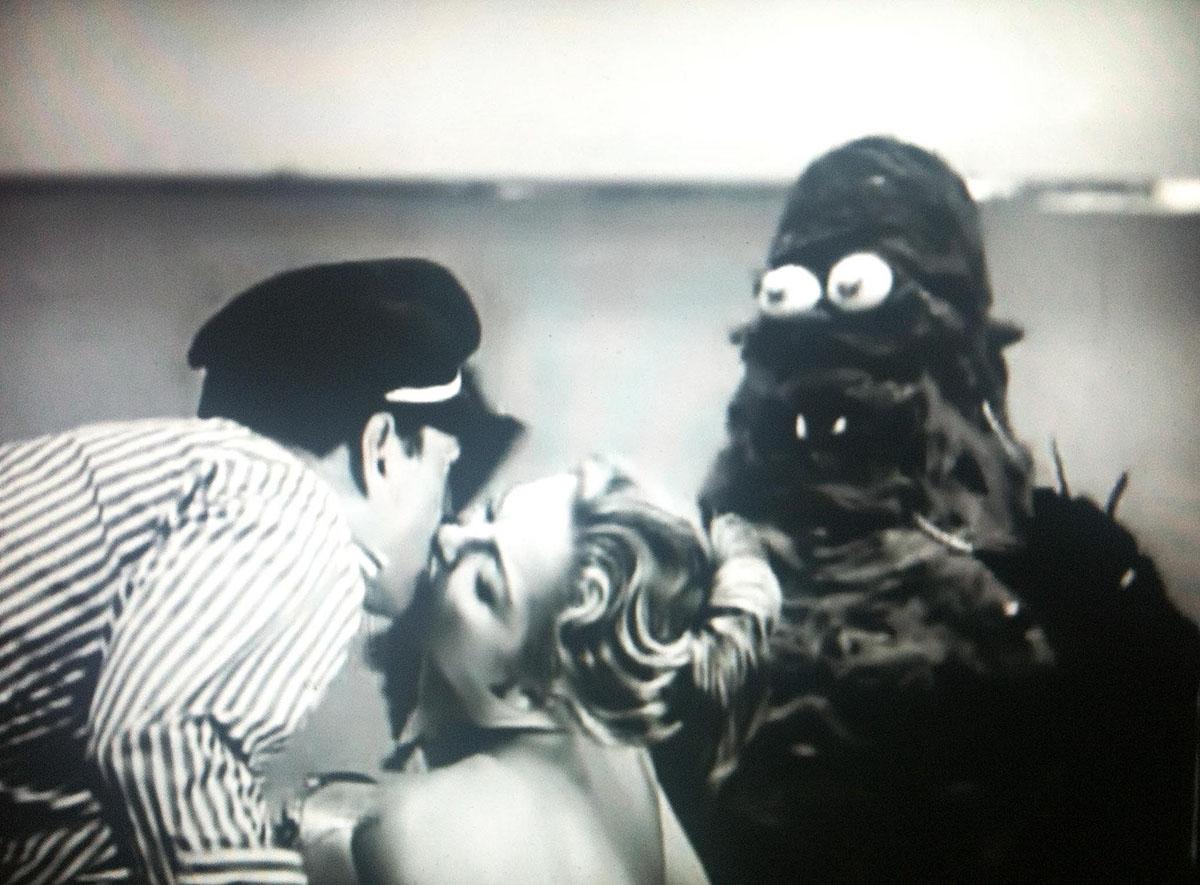 bizarro, monstros toscos, filmes B, trash, horror, antigo