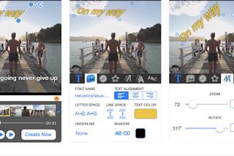 OGGI GRATIS: App da 3,49 €per aggiungere testo sui video e condividerli