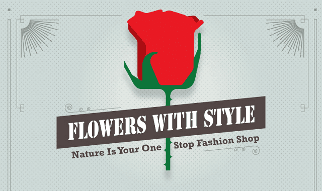 Flowers with Style: Nature is Your One Stop Fashion Shop