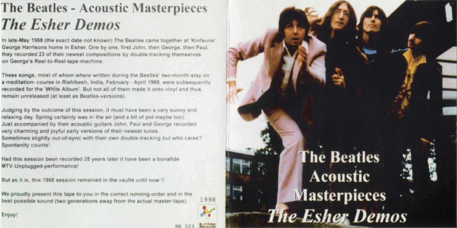 T U B E : The Beatles - 1968 The Esher Demos (STU/FLAC)