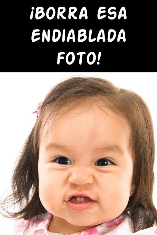 humor para facebook borra esa endiablada foto