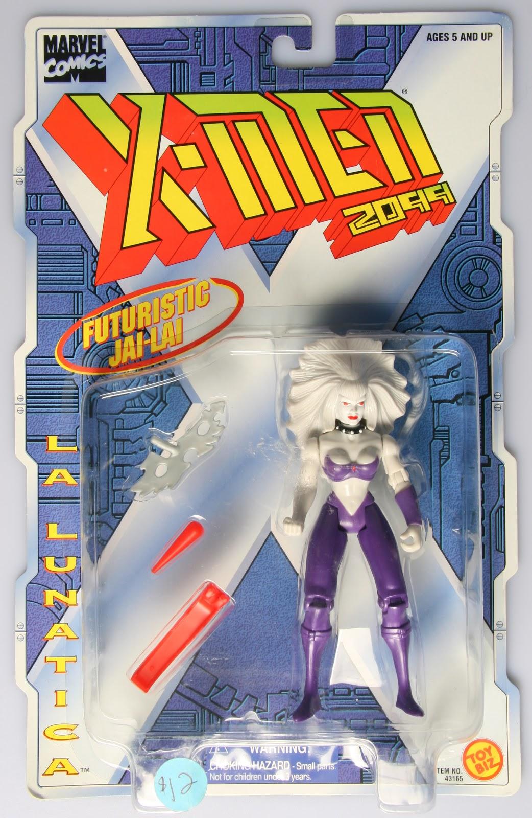 LA LUNATICA MARVEL COMICS X-MEN 2099 ACTION FIGURE