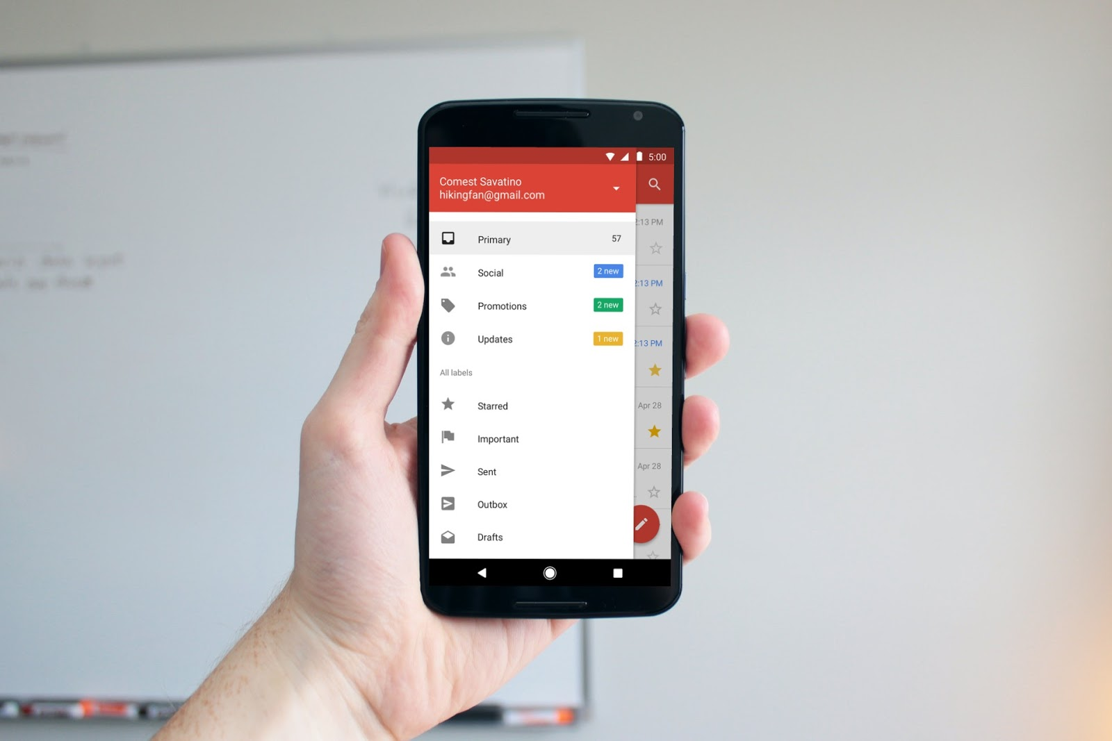 Google launches Gmail Go for Android - The latest addition to its Go series of apps