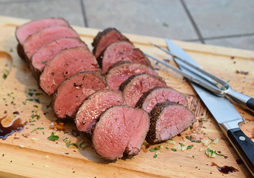 Certified Angus Beef tenderloin roast recipe #bestangusbeef