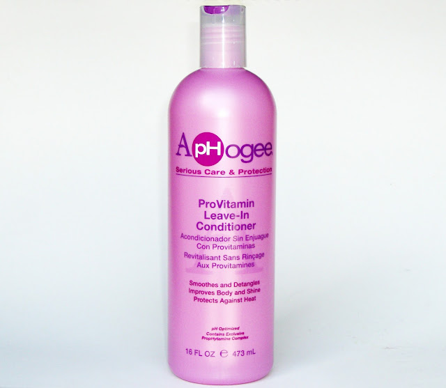 ApHogee cruellty-free hair care for damaged hair, ProVitamin Leave-In Conditioner review