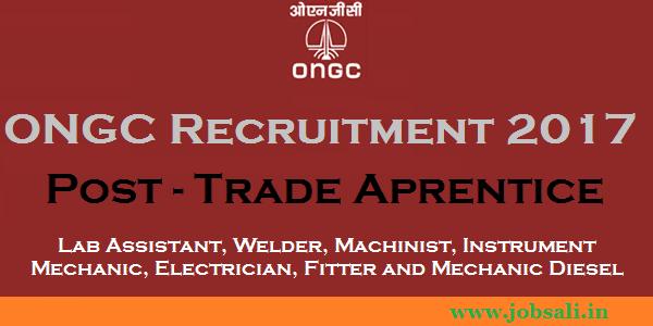 ONGC Careers, ONGC Apprentice jobs, ITI Jobs