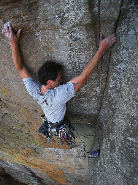 Travis' Life Solid Rock Climbers Christ National