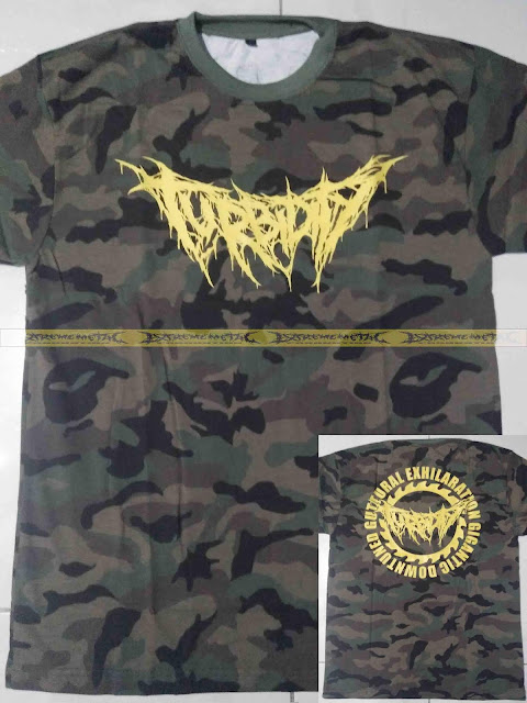 T-Shirt TURBIDITY - Guttural Exhilaration Gigantic Downtuned