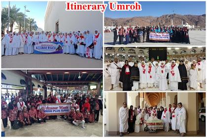 Program Itinerary Umroh 9 Hari Direct Jeddah
