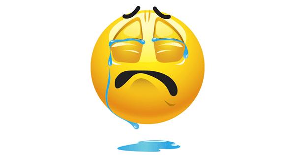 Tears Flow | Symbols & Emoticons Facebook Message Emoticons