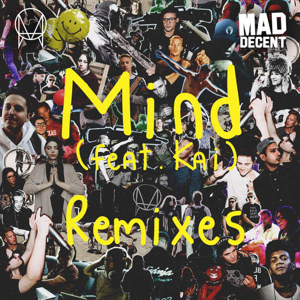 Skrillex & Diplo - Mind (feat. Kai) [Remixes] - EP Cover