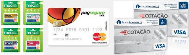 Pesquisa de Links sobre Como Fazer um Cartão Pré pago Internacional