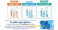 Logo Elmex e Meridol ti regalano le carte Il Gigante da 25€