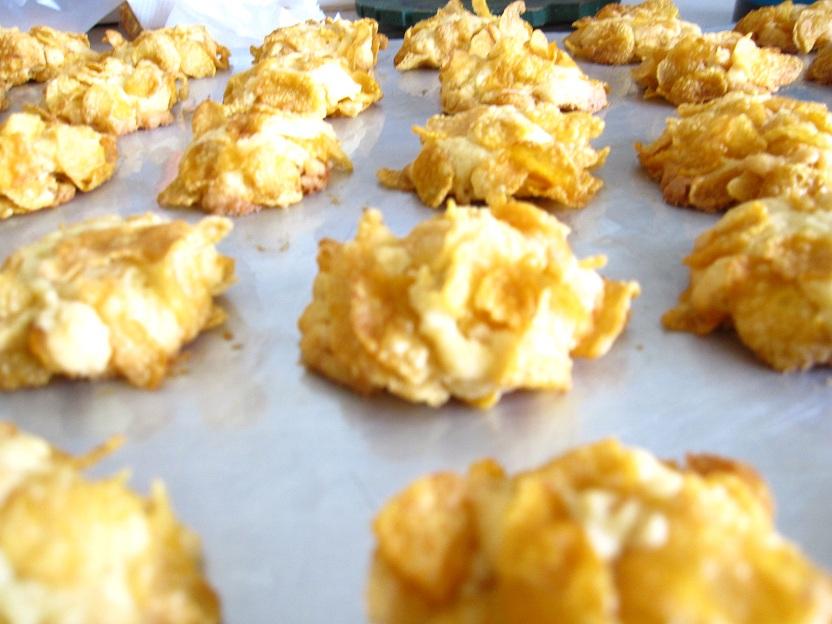 Cornflake Cake Easy Recipe
