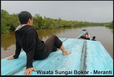 Wisata Sungai Bokor di Kabupaten Meranti Kapal Pompong
