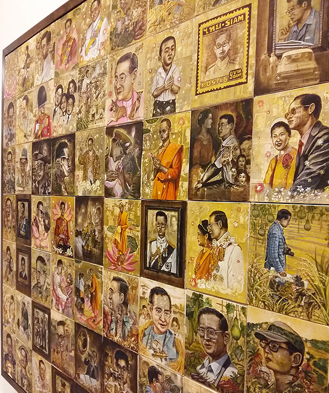 Songwut Khaowiset - Thai King Rama IX Art