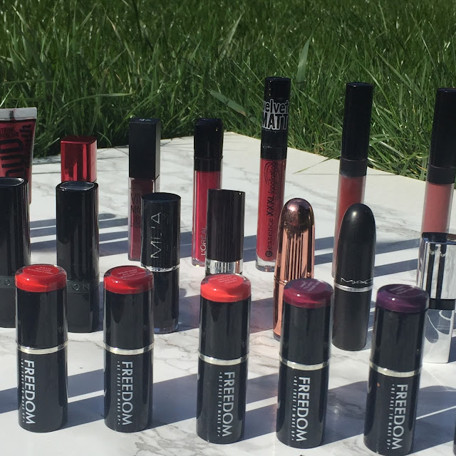 My Makeup Collection - Bold Lipsticks