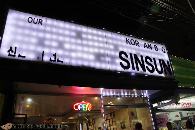 Sinsun Korean Restaurant in Malate, Manila