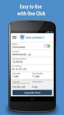 تطبيق Free VPN - ZPN