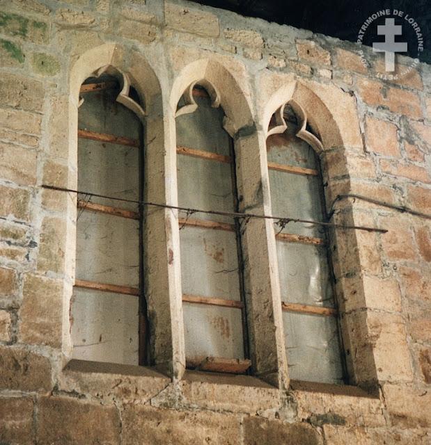 VILCEY-SUR-TREY (54) - Abbaye des Prémontrés Sainte-Marie-au-Bois (XIIe-XVIe siècles)