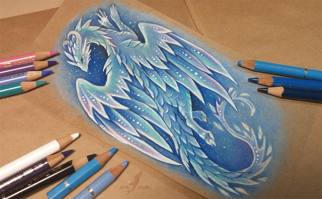 09-Arctic-ice-dragon-Alvia-Alcedo-Dragon-and-other-Mythical-Fantasy-Drawings-www-designstack-co