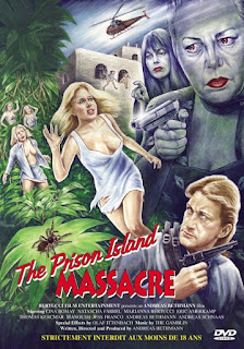 affiche poster prison island massacre angel of death 2 d'andreas bethmann porno gore allemand