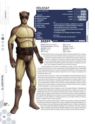 Superheroe Huron