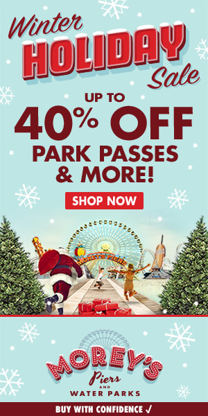 MOREY'S PIERS HOLIDAY SALE!