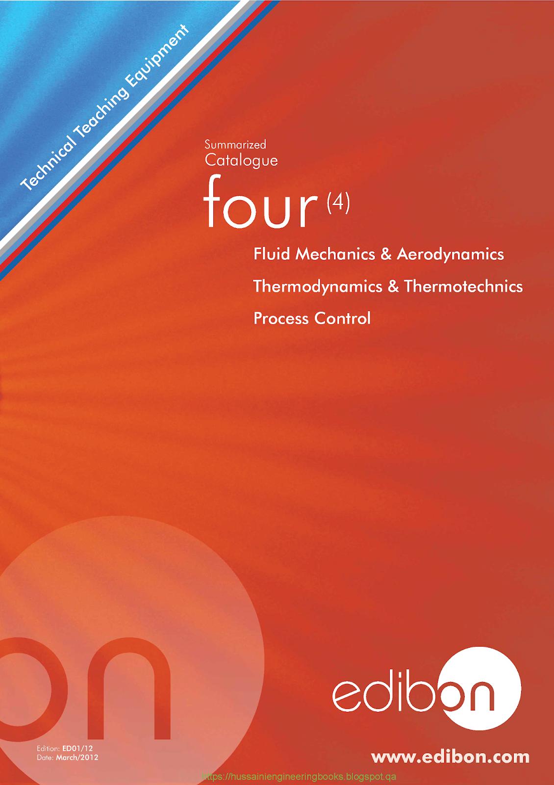Catalogue four Fluid Mechanics and Aerodynamics