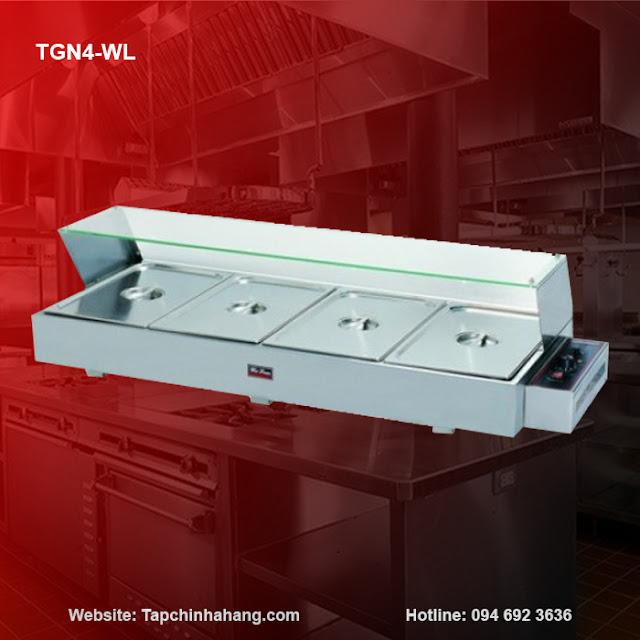 Tủ giữ nóng thức ăn 4 ô TGN4-WL
