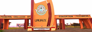 FCET Umunze Matriculation Ceremony Date 2019/2020 | NCE & Degree
