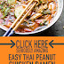Easy Thai Peanut Chicken Ramen ( Ready in 30 Minute)