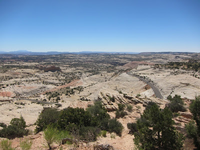 Photo of Route 12 in Grand Staircase-Escalante National Monument