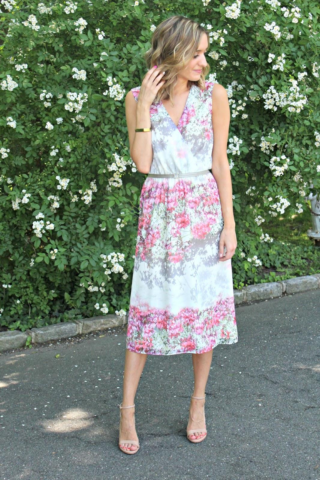floral pattern piol dress