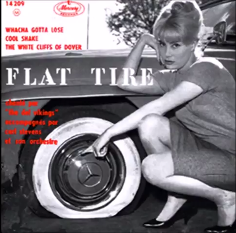 The Dell-Vikings - Flat Tyre