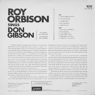 Roy Orbison - Sings Don Gibson (1966 2015)