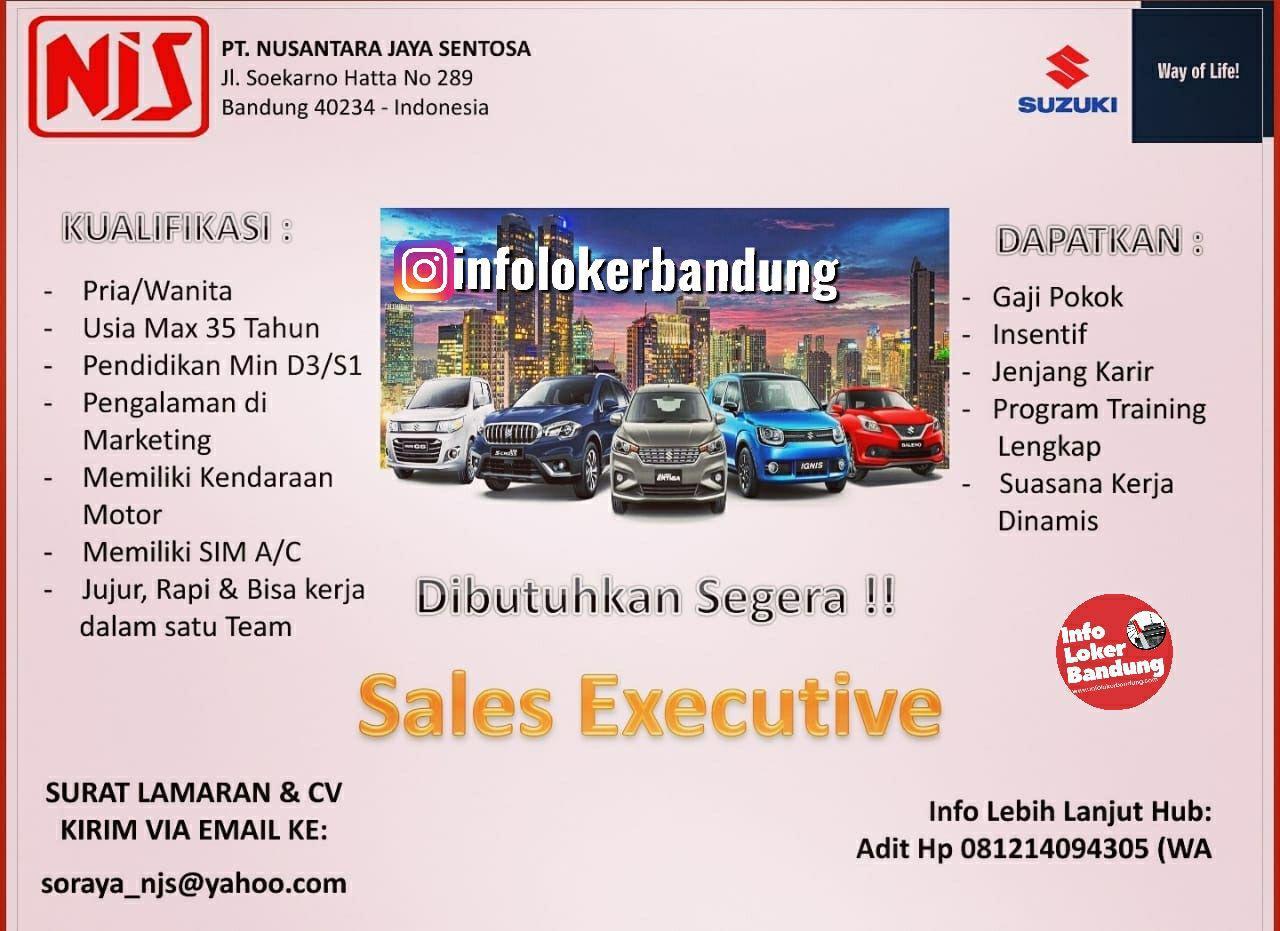 Lowongan Kerja PT. Nusantara Jaya Sentosa ( Suzuki Mobil ) Bandung Mei 2019