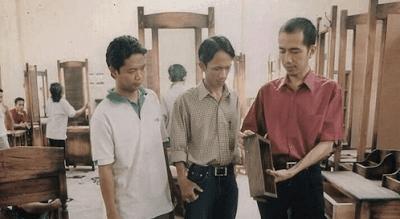 foto lama jokowi pengusaha